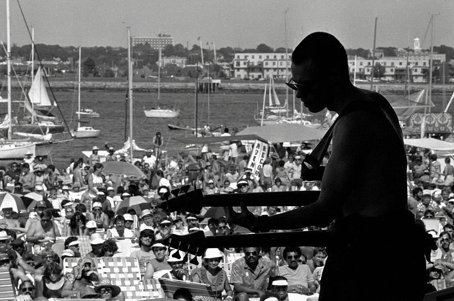 Jazz Musican At Newport Festival Photograph by Bettmann