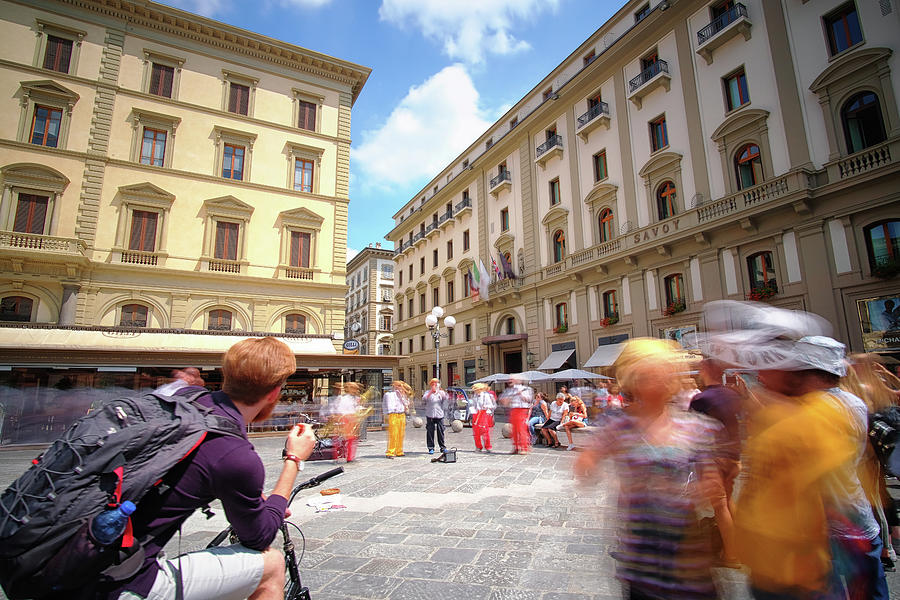 Jazz on the Piazza Repubica by Matthew Pace