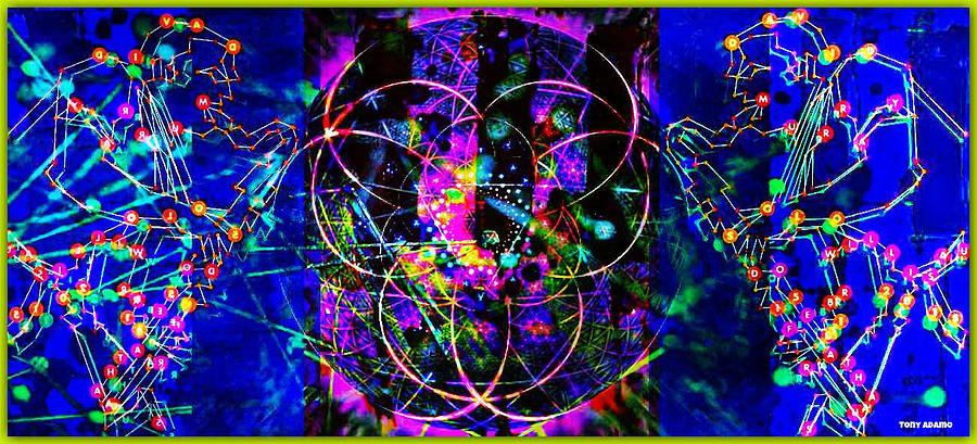 Jazz Quantum Entanglement Digital Art by Tony Adamo