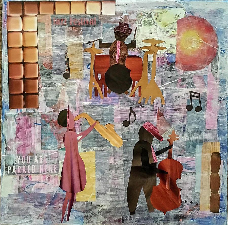 Jazz Trio by Mary Chris Hines