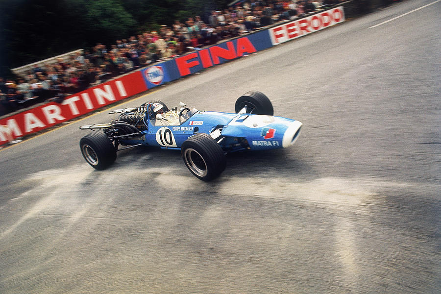 Jean-pierre Beltoise Driving A Matra Photograph by Heritage Images