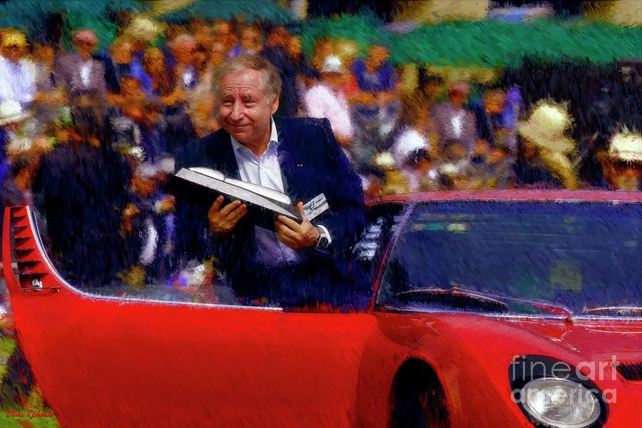 Jean Todt 1992 Lamborghini Miura SV by Blake Richards
