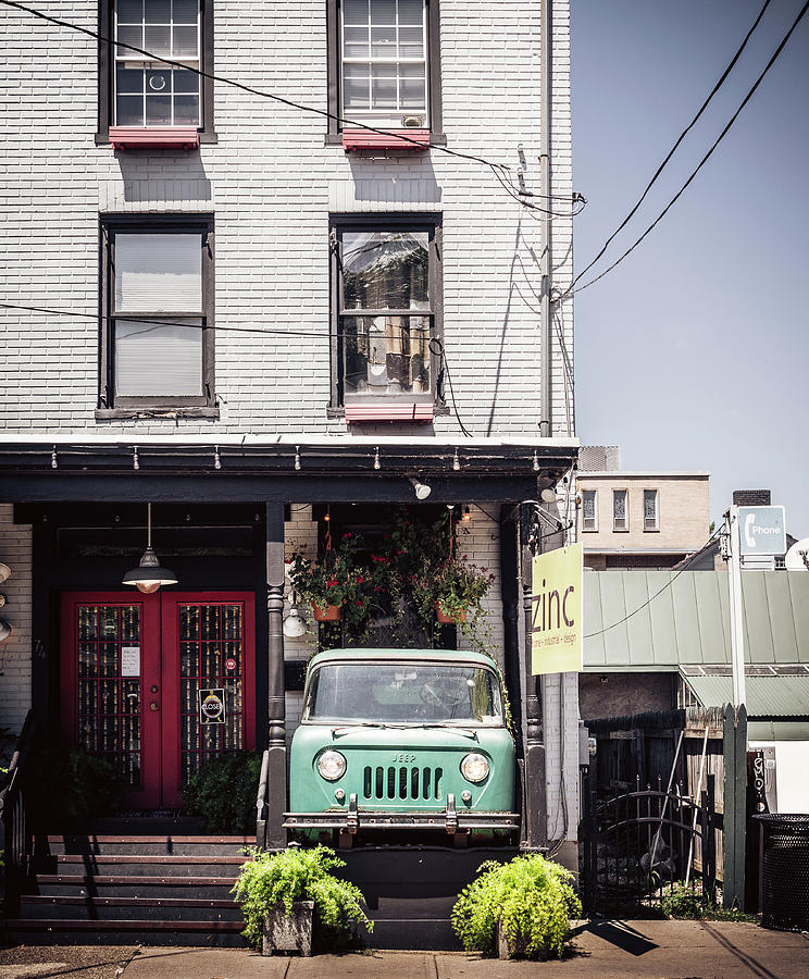 jeep on the porch by Steve Stanger