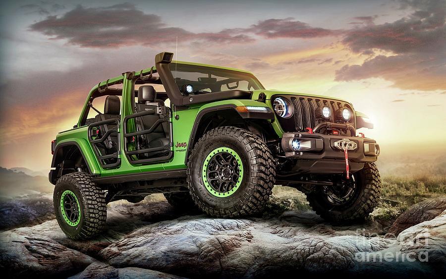 Green Jeep Wrangler >> Jeep Wrangler Green Machine