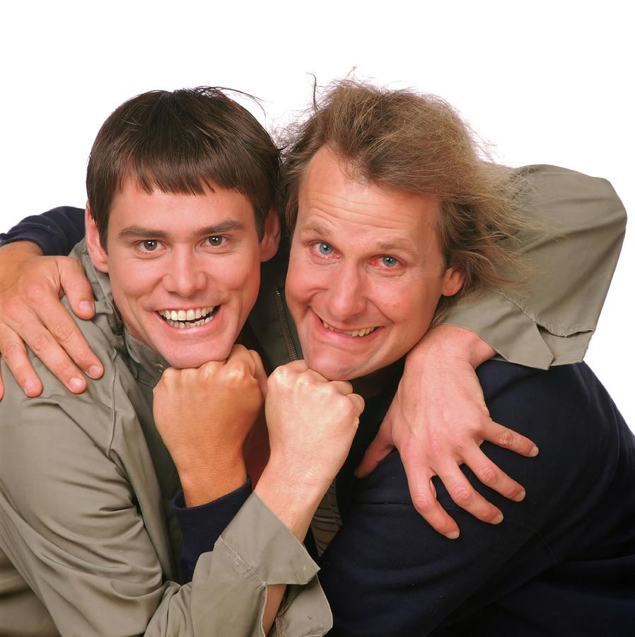Jeff Daniels And Jim Carrey In Dumb And Dumber 1994 Photograph By Album