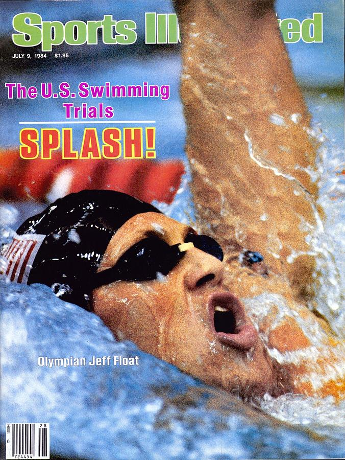 Jeff Float, 1984 Us Olympic Swimming Trials Sports Illustrated Cover Photograph by Sports Illustrated
