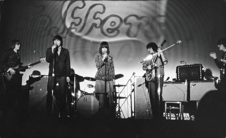 Jefferson Airplane At The Fillmore East Photograph by Fred W. McDarrah