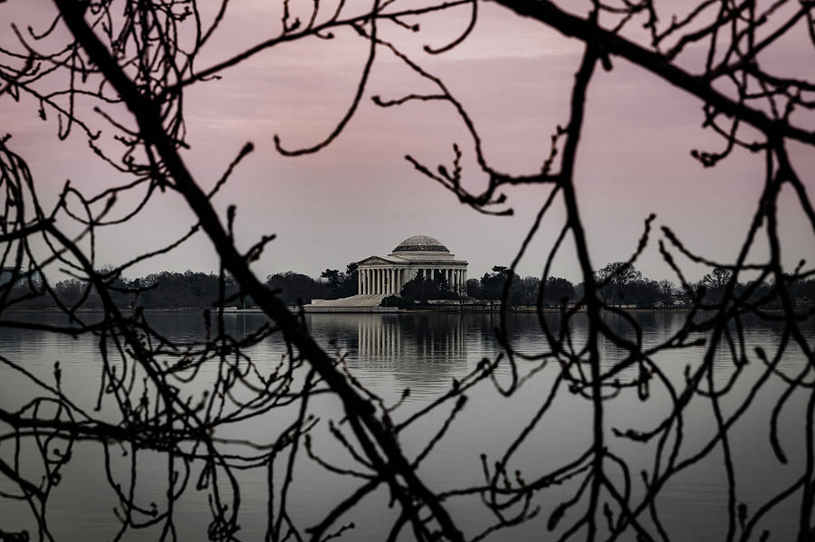 Jefferson Memorial by Kathleen Scanlan