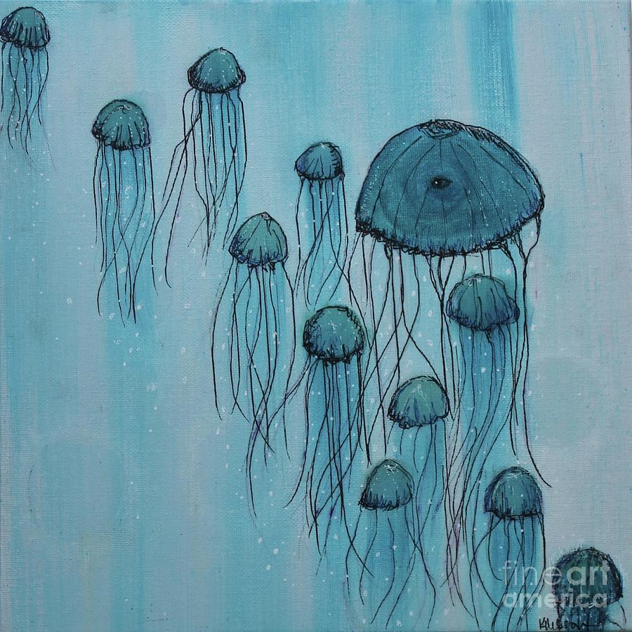 Jellyfish Ballet II by Kim Nelson