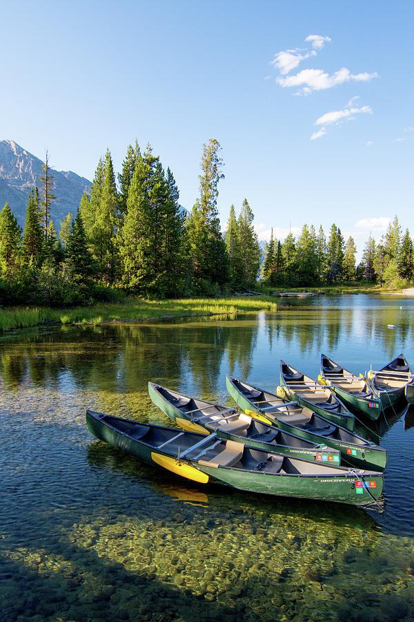 Jenny Lake by Bonnie Bruno