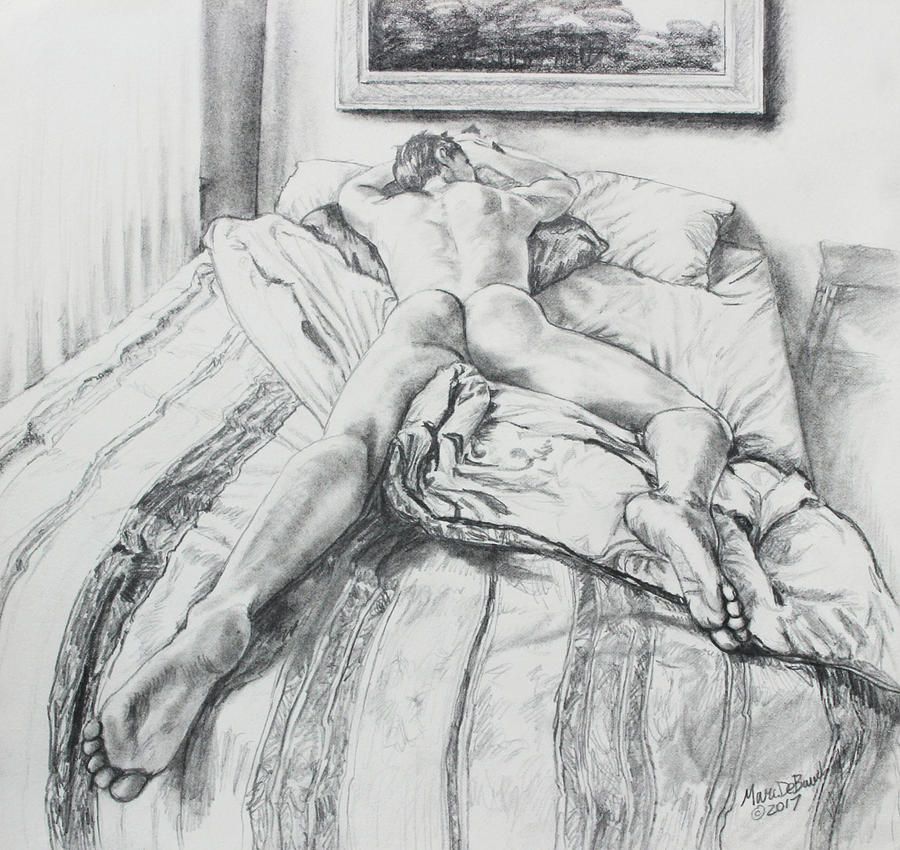 Jeremy on the Bed by Marc DeBauch