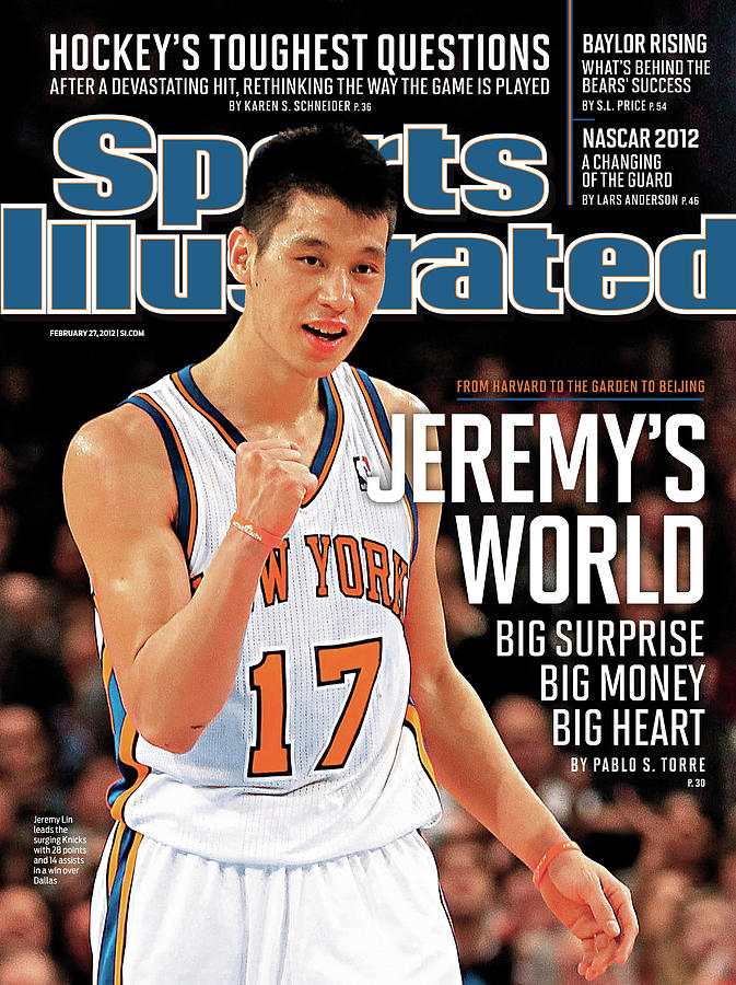 Jeremys World From Harvard To The Garden To Beijing Sports Illustrated Cover Photograph by Sports Illustrated