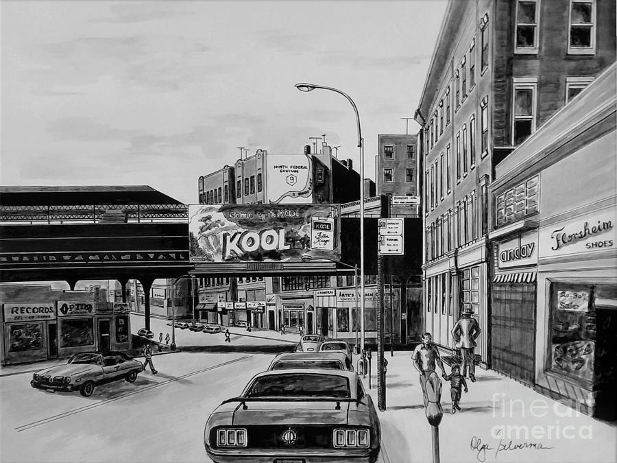 Jerome and Burnside Aves. by Olga Silverman