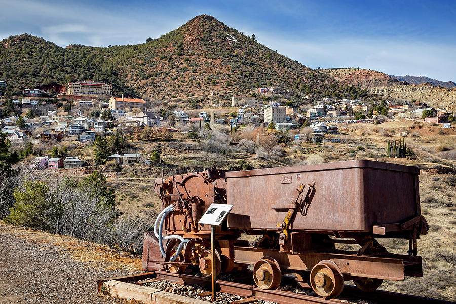 Jerome Copper Mining Town by Kelley King