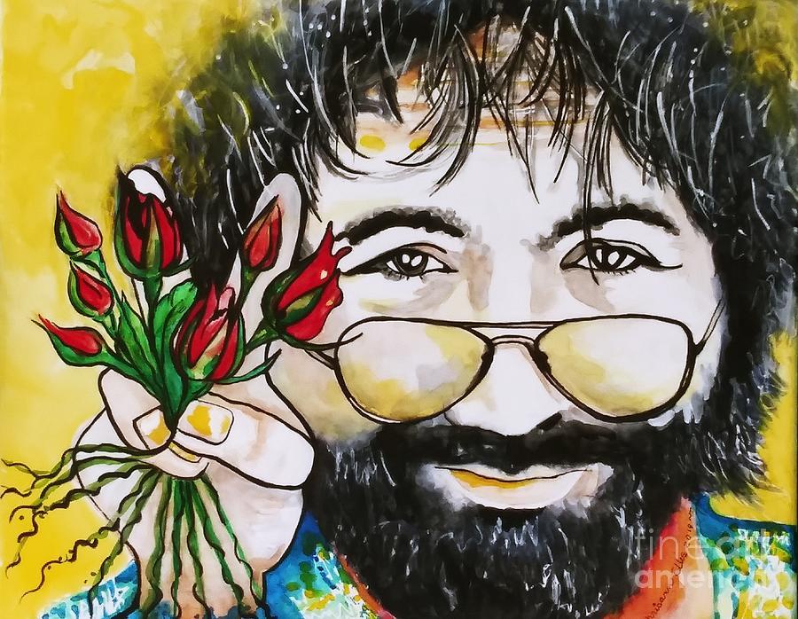 Jerry Garcia by Chrisann Ellis