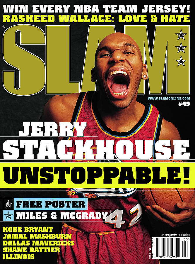 Jerry Stackouse: Unstoppable! SLAM Cover Photograph by Getty Images