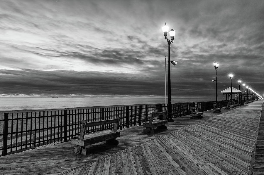 Jersey Shore in Winter by Kyle Lee