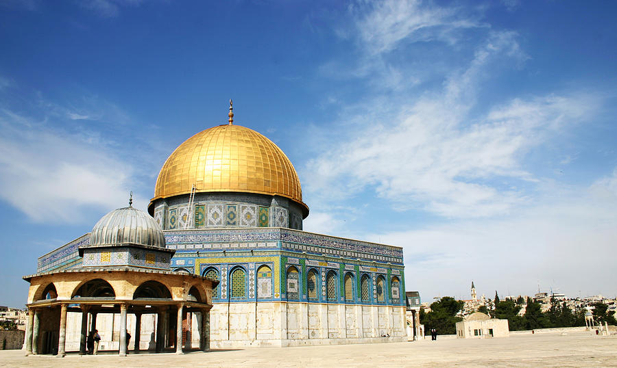 Jerusalem Dome Of Rock On A Sunny Day Photograph by Doulos
