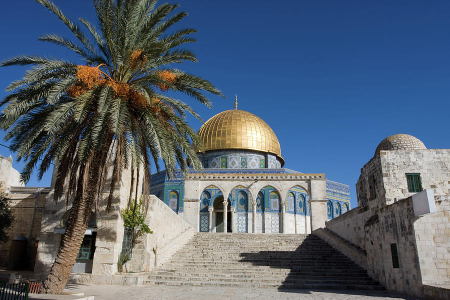 Jerusalem, Dome Of The Rock, Historic Photograph by Richmatts