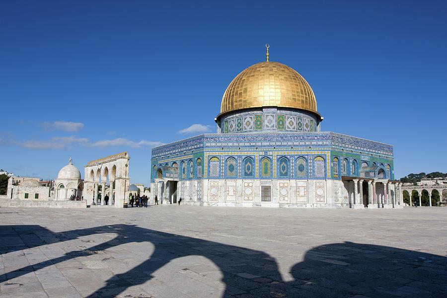 Jerusalem, Dome Of The Rock Photograph by Richmatts