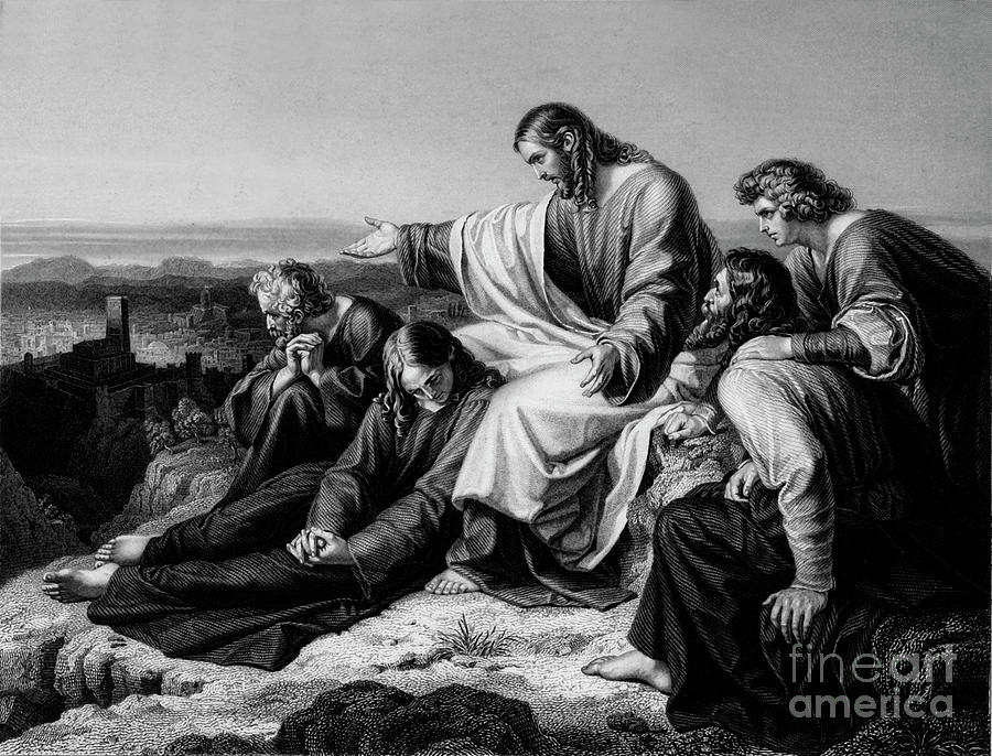 Jerusalem Hath Grievously Sinned Drawing by Print Collector