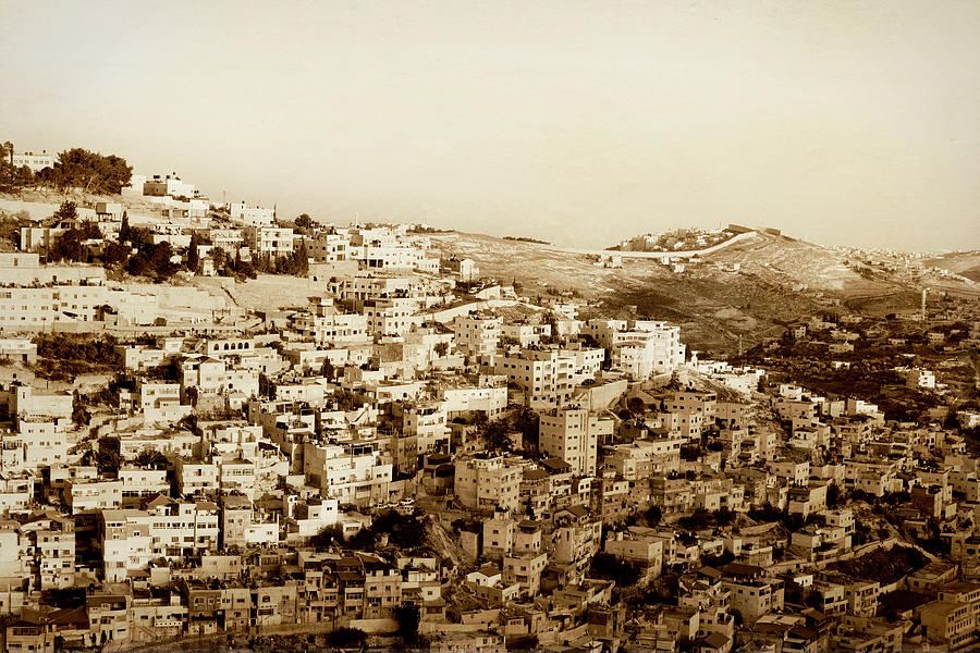 Jerusalem, Israel Photograph by Gosiek-b