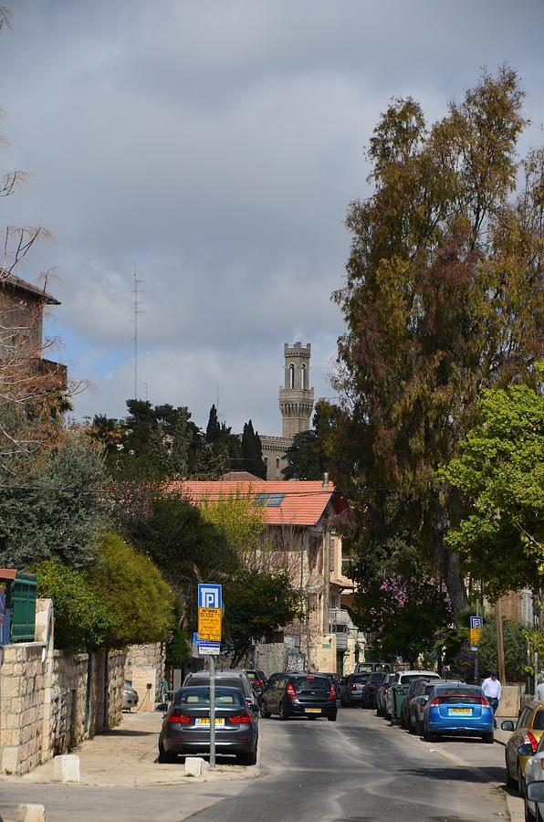 Jerusalem - Morasha Neighborhood - Rehov HaAyin Het by Alex Vishnevsky