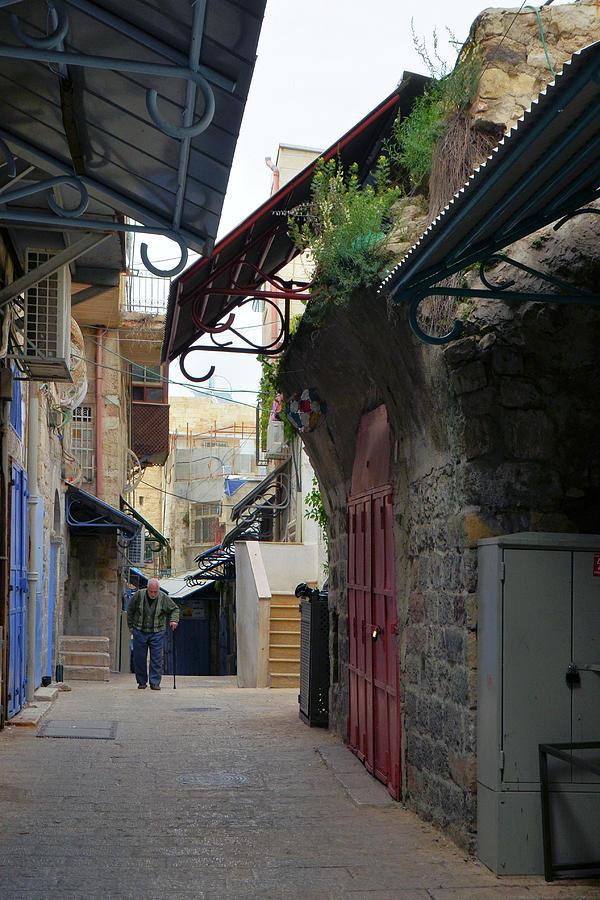 Jerusalem Old City Christian Quarter by Alex Vishnevsky