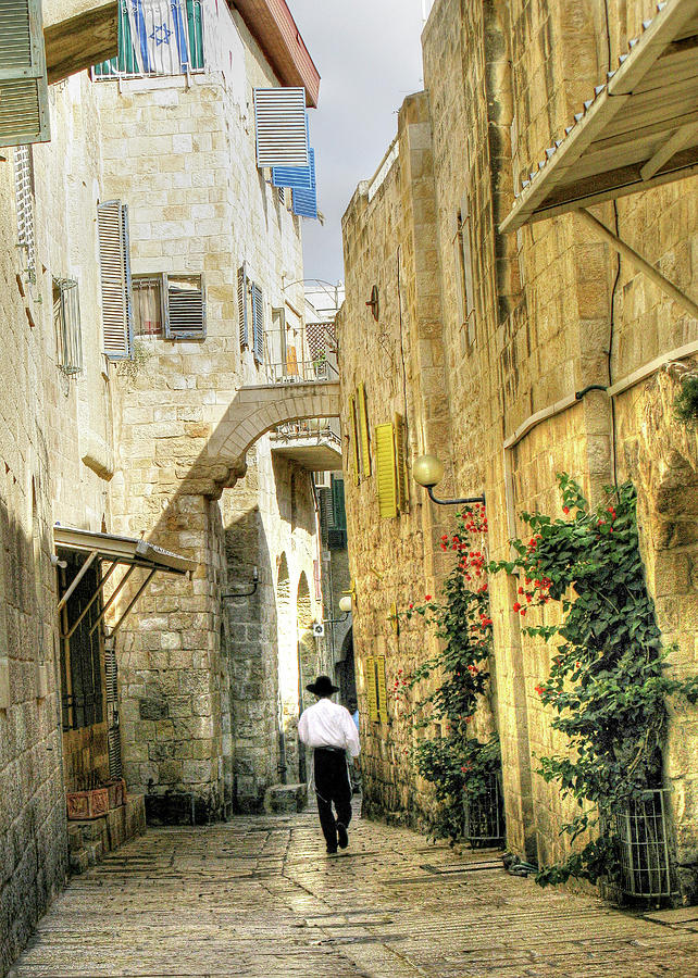 Jerusalem Side Street by Doug Matthews