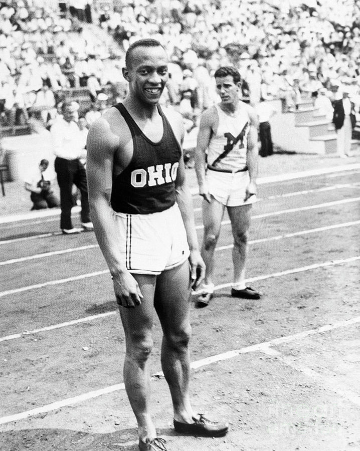 Jesse Owens At Olympic Tryouts Photograph by Bettmann
