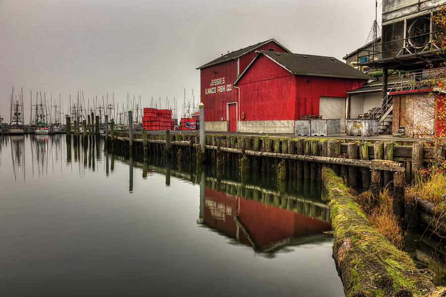Jessies Ilwaco Fish Co by Mark Kiver