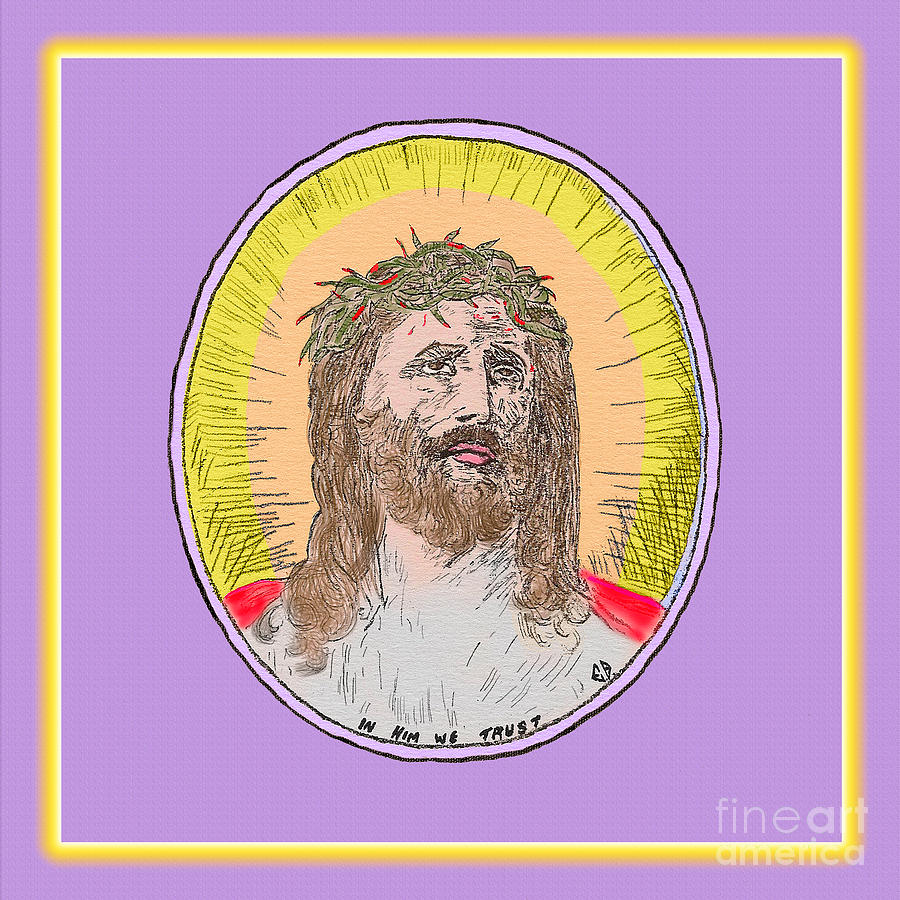 Jesus and Glow by Donna L Munro