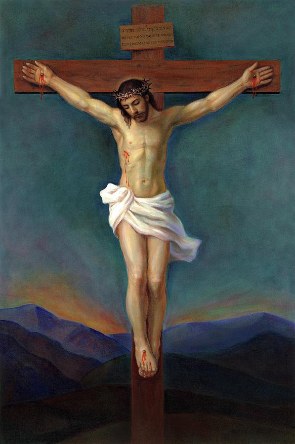 Jesus Christ On The Cross - Crucifixion