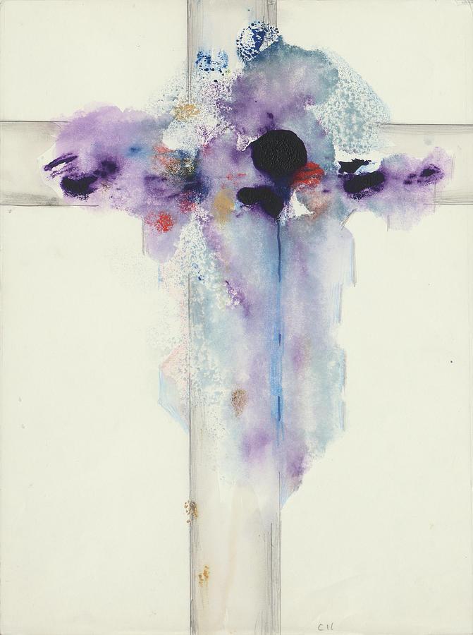 Jesus Cross CII by Willy Wiedmann