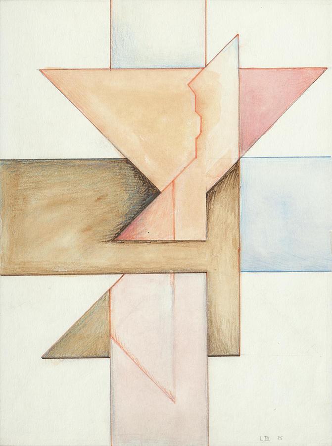 Jesus Cross L III 85 by Willy Wiedmann