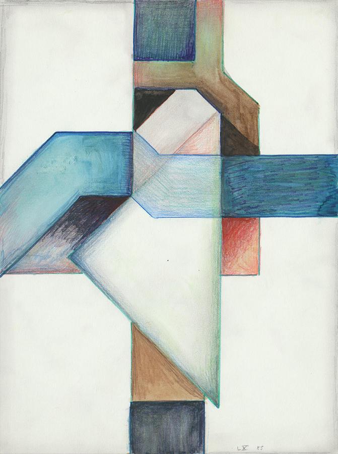 Jesus Cross L X 85 by Willy Wiedmann