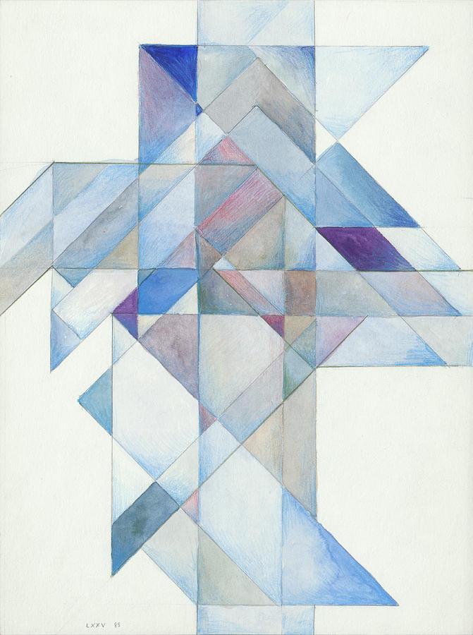 Jesus Cross LXXV 85 by Willy Wiedmann