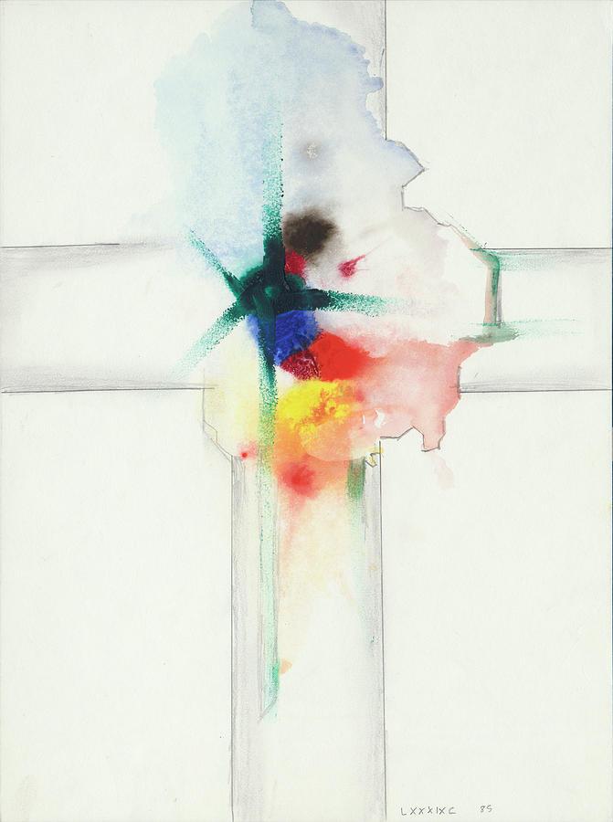 Jesus Cross LXXXIXC 85 by Willy Wiedmann