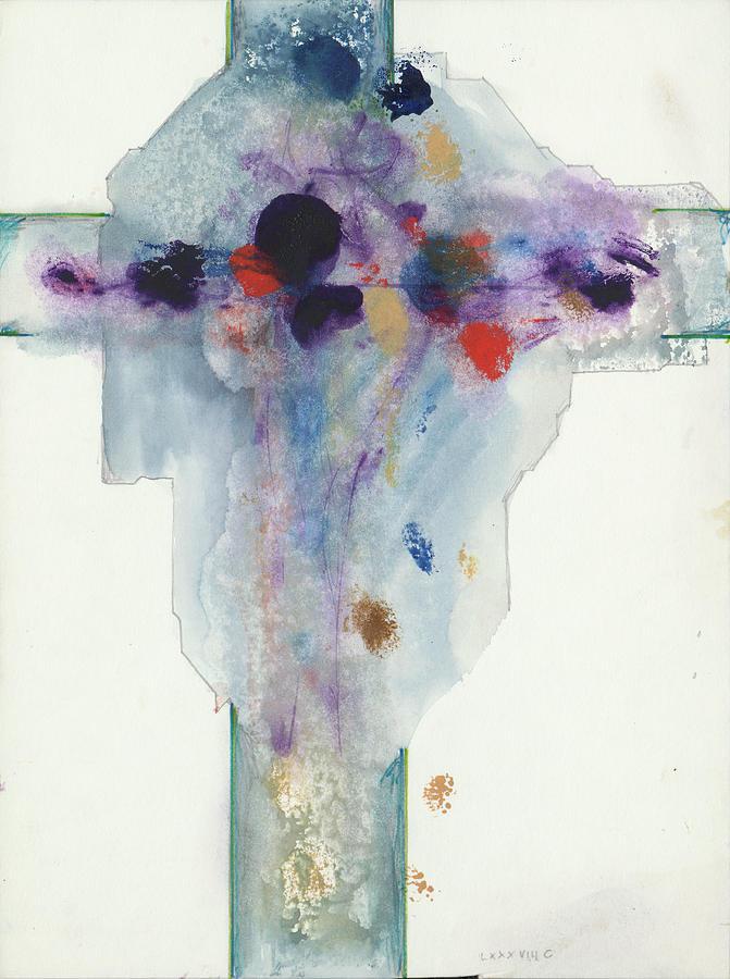 Jesus Cross LXXXVIIIC by Willy Wiedmann