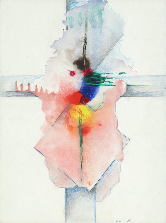 Jesus Cross XC 85 by Willy Wiedmann