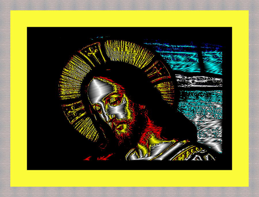 Jesus in Yellow by Mary Russell