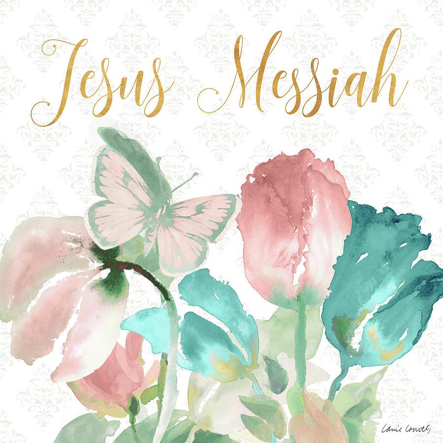Jesus Mixed Media - Jesus Messiah by Lanie Loreth
