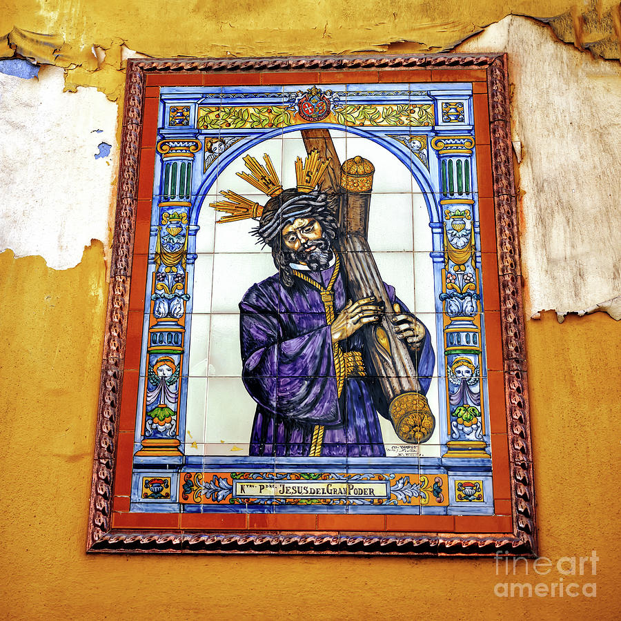 Jesus of the Great Power in Seville by John Rizzuto