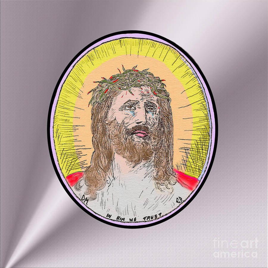 Jesus on Silver by Donna L Munro