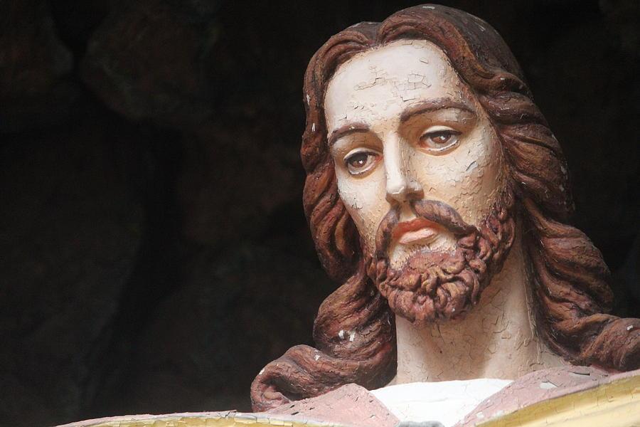 Jesus Christ Photograph - Jesus Statue by Callen Harty