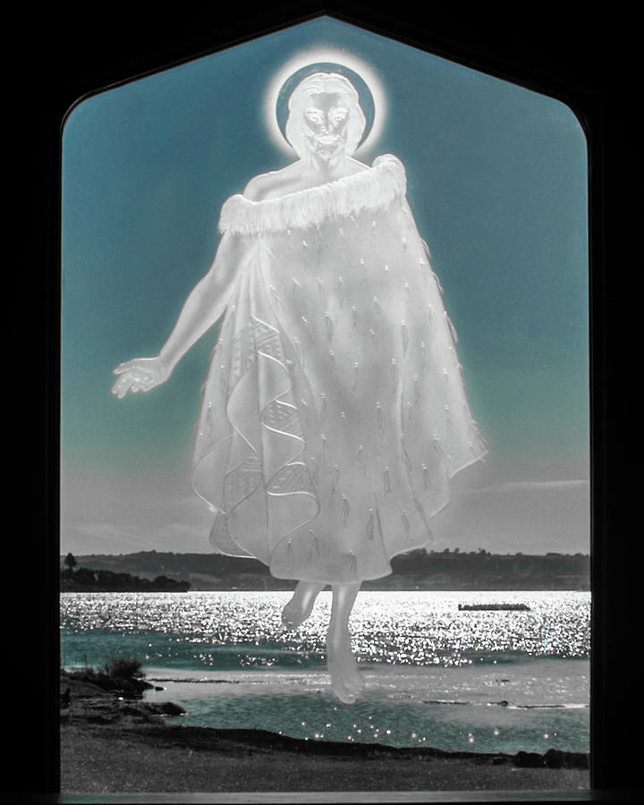 Jesus Walks on the Water by Mark Dodd