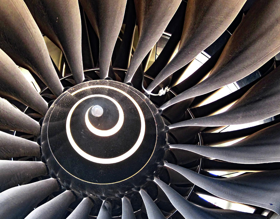 Jet Engine Fan No. 6-1 by Sandy Taylor