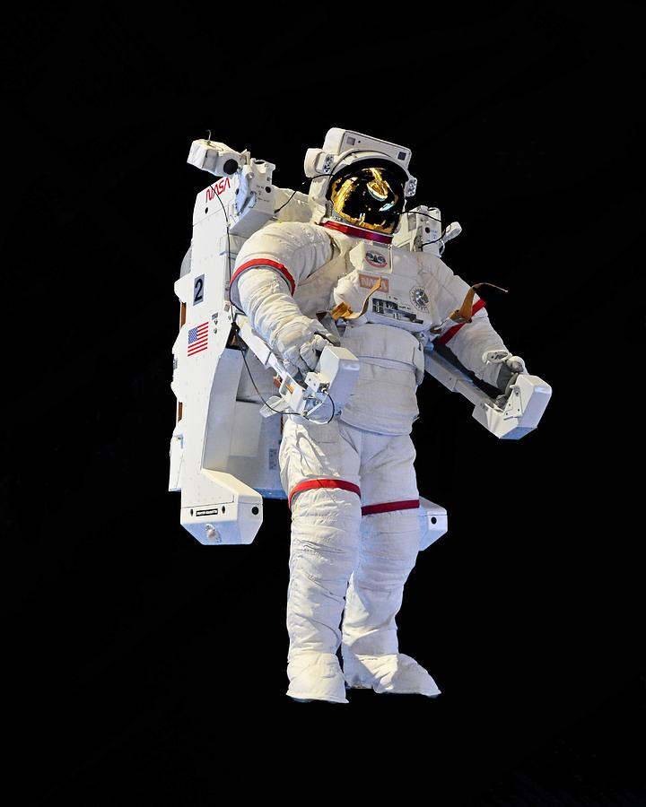 Jet Pack - Spacewalk Suit, Kennedy Space Center by KJ Swan