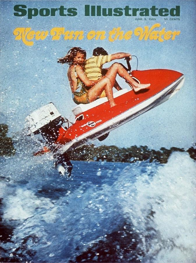 Jet Skiing Sports Illustrated Cover Photograph by Sports Illustrated