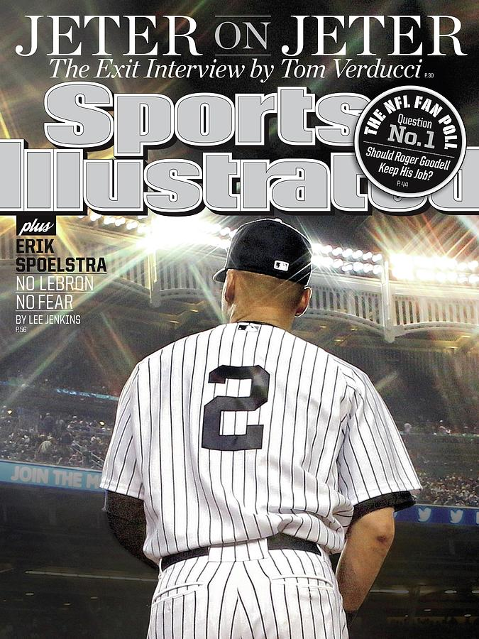 Jeter On Jeter The Exit Interview Sports Illustrated Cover Photograph by Sports Illustrated